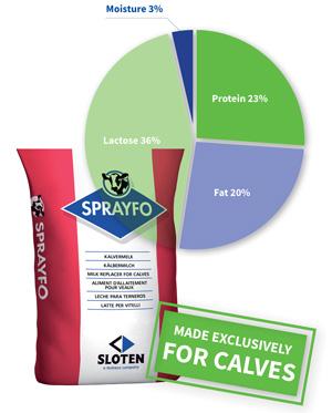 Sprayfo Red Finisher Calf Milk Powder   Agrivantage